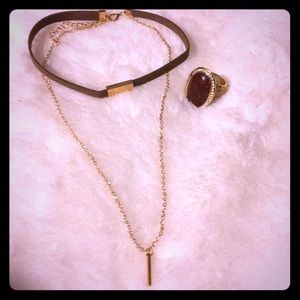 Jewelry - Necklace and Ring Duo